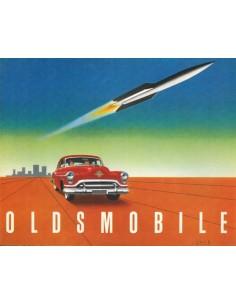 1951 OLDSMOBILE ROCKET ENGINE SUPER 88 PROSPEKT ENGLISCH