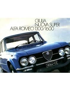 1976 ALFA ROMEO GIULIA NUOVA SUPER 1300 1600 PROSPEKT NIEDERLÄNDISCH
