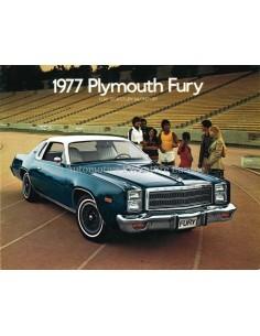 1977 PLYMOUTH FURY PROSPEKT ENGLISCH