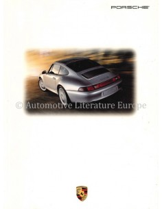 1995 PORSCHE 911 CARRERA & TURBO BROCHURE ENGELS