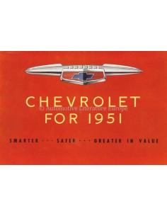 1951 CHEVROLET RANGE BROCHURE ENGLISH (US)