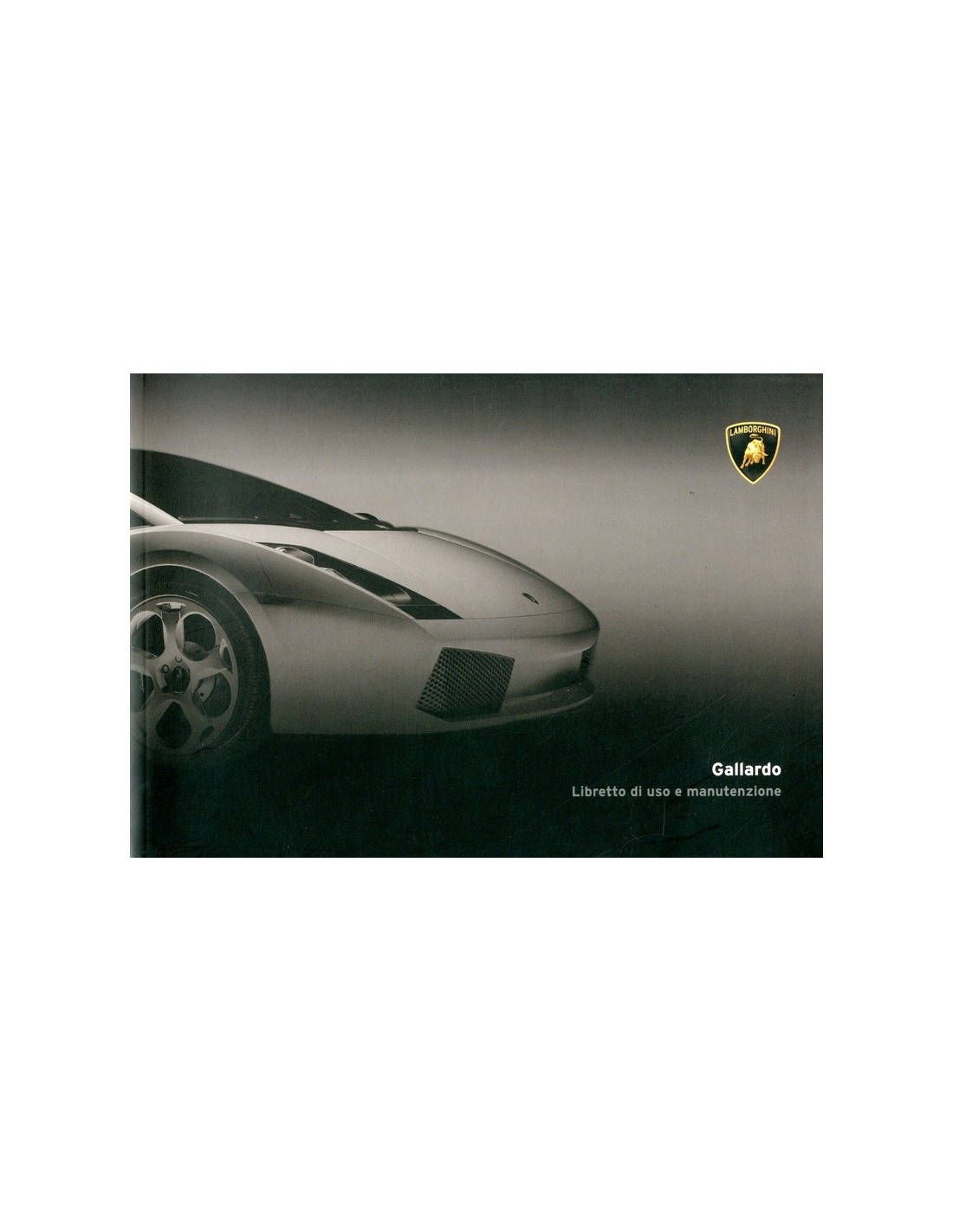 Lamborghini gallardo owners manual pdf