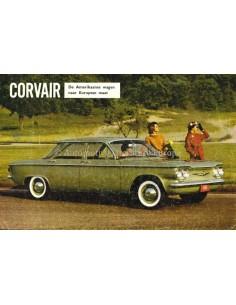 1960 CHEVROLET CORVAIR PROSPEKT NIEDERLANDISCH