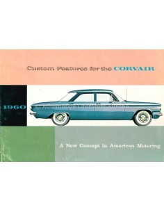 1960 CHEVROLET CORVAIR BROCHURE ENGLISH (US)
