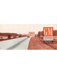 1963 GENERAL MOTORS PROSPEKT ENGLISCH (VS)