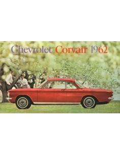 1962 CHEVROLET CORVAIR PROSPEKT NIEDERLANDISCH
