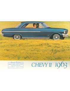 1963 CHEVROLET CHEVY II BROCHURE DUTCH
