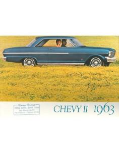 1963 CHEVROLET CHEVY II BROCHURE NEDERLANDS