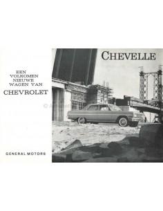 1964 CHEVROLET CHEVELLE BROCHURE DUTCH