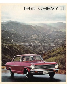 1965 CHEVROLET CHEVY II BROCHURE ENGLISH