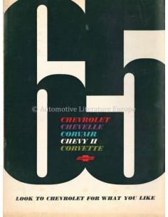 1965 CHEVROLET RANGE BROCHURE ENGLISH (US)