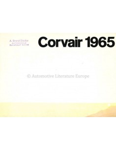 1965 CHEVROLET CORVAIR BROCHURE DUITS