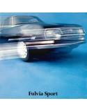 1971 LANCIA FULVIA SPORT ZAGATO BROCHURE