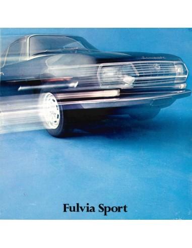 1971 LANCIA FULVIA SPORT ZAGATO PROSPEKT