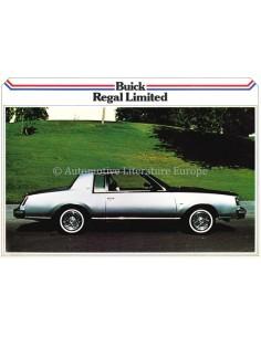 1979 BUICK REGAL LIMITED LEAFLET DUTCH