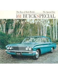 1961 BUICK SPECIAL BROCHURE ENGLISH