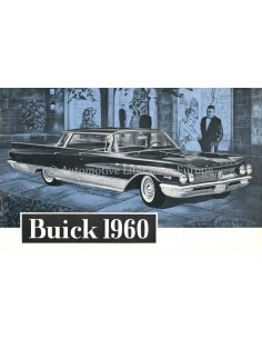 1960 BUICK PROGRAMMA BROCHURE NEDERLANDS