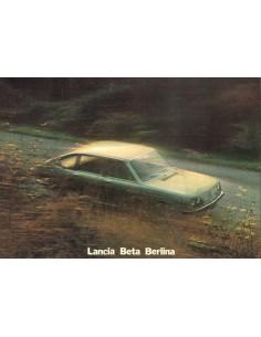 1973 LANCIA BETA LIMOUSINE PROSPEKT NIEDERLÄNDISCH