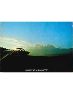 1975 LANCIA FULVIA COUPE 3 BROCHURE