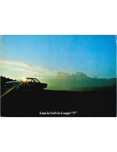 1975 LANCIA FULVIA COUPE 3 PROSPEKT