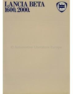 1973 LANCIA BETA 1600 / 2000 PROSPEKT ITALIENISCH