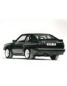 1986 AUDI SPORT QUATTRO PRESS PHOTO