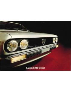 1977 LANCIA BETA 1300 COUPE PROSPEKT