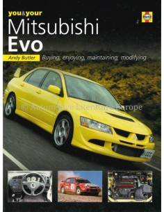 YOU & YOUR MITSUBISHI EVO - PAUL GUINNESS - BOOK