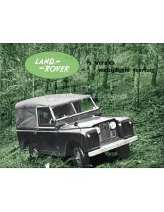 1959 LAND ROVER SERIES I BROCHURE DUTCH