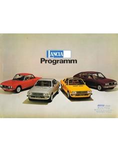1975 LANCIA PROGRAMM PROSPEKT DEUTSCH