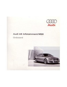 2008 AUDI A5 CD INFOTAINMENT MMI