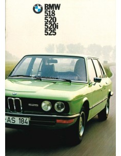 1973 BMW 5 SERIES BROCHURE DUTCH