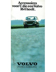 1971 VOLVO 164 ACCSESSOIRIES BROCHURE DUTCH