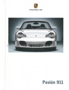 2005 PORSCHE 911 CARRERA & TARGA HARDCOVER BROCHURE SPANISH