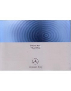 2008 MERCEDES BENZ VOICETRONIC OWNERS MANUAL HANDBOOK ITALIAN