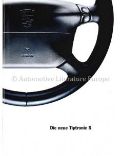 1995 PORSCHE TIPTRONIC S BROCHURE GERMAN