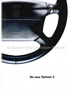 1995 PORSCHE TIPTRONIC S PROSPEKT DEUTSCH