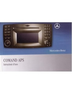 2008 MERCEDES BENZ COMAND APS INSTRUCTIEBOEKJE ITALIAANS