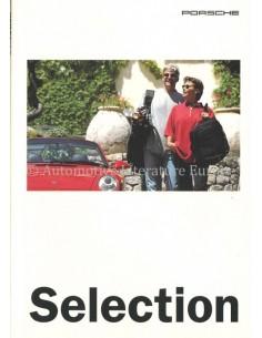 1995 PORSCHE SELECTION PROSPEKT ENGLISCH