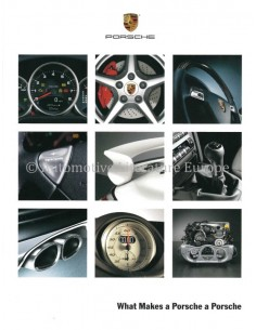 2006 PORSCHE QUESTIONS AND ANSWERS BROCHURE ENGLISH