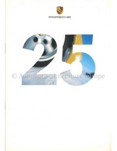 1999 PORSCHE WINTERPROGRAMM PROSPEKT DEUTSCH