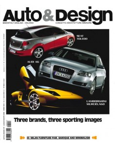 2004 AUTO & DESIGN MAGAZINE ITALIAN & ENGLISH 147