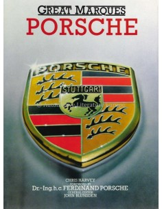 GREAT MARQUES - PORSCHE - CHRIS HARVEY - BOOK