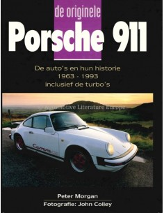 DE ORIGINELE PORSCHE 911 - PETER MORGAN - BOOK