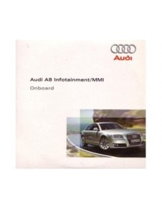 2007 AUDI A8 CD INFOTAINMENT MMI