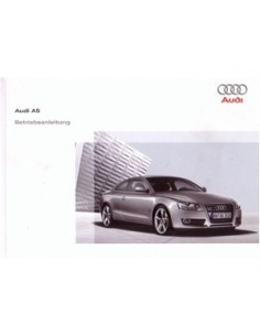 2007 AUDI A5 OWNERS MANUAL HANDBOOK GERMAN