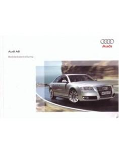 2008 AUDI A8 OWNERS MANUAL HANDBOOK GERMAN
