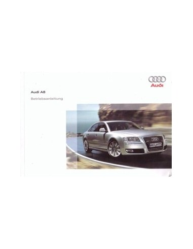 2008 audi a8 owners manual handbook german automotive literature rh autolit eu 1997 Audi A8 Problems 2012 Audi A8