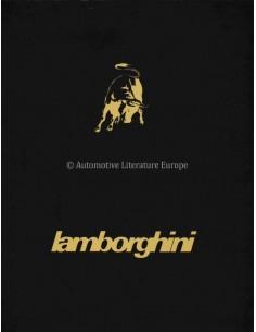 1981 LAMBORGHINI COUNTACH LP400 S PORTFOLIO BROCHURE