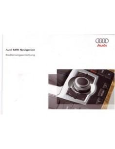 2009 AUDI OWNERS MANUAL INFOTAINMENT MMI GERMAN